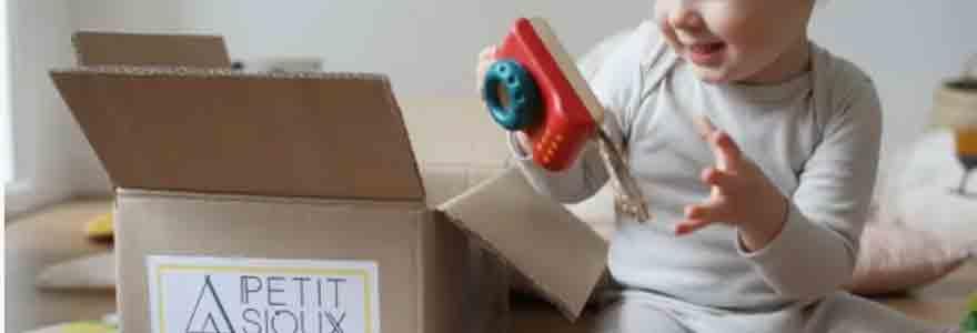 box pédagogiques de jouets